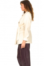 IRO |  Blazer with tie waistbelt | natural   | Picture 6