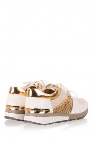 MICHAEL Michael Kors | Leren sneakers Allie | wit  | Afbeelding 4