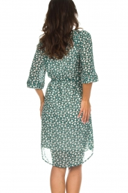 Lolly's Laundry |  Printed dress Jade | green  | Picture 3