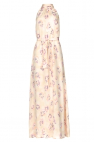 Dante 6 |  Sleeveless maxi dress with print Clerie | nude  | Picture 1