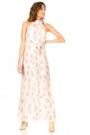 Dante 6 |  Sleeveless maxi dress with print Clerie | nude  | Picture 4