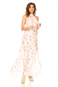 Dante 6 |  Sleeveless maxi dress with print Clerie | nude  | Picture 3