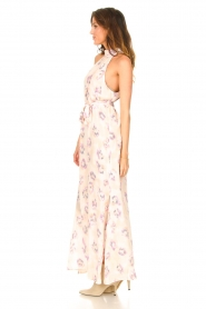 Dante 6 |  Sleeveless maxi dress with print Clerie | nude  | Picture 5