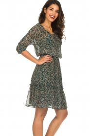 Lolly's Laundry |  Floral dress City | green  | Picture 5