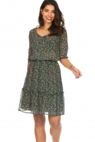 Lolly's Laundry |  Floral dress City | green  | Picture 2
