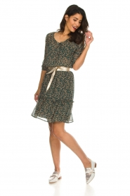 Lolly's Laundry |  Floral dress City | green  | Picture 3