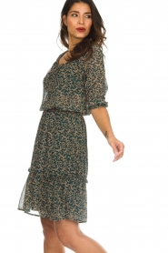 Lolly's Laundry |  Floral dress City | green  | Picture 4