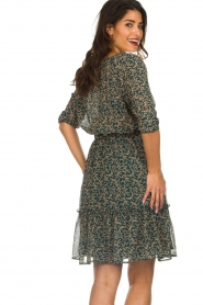 Lolly's Laundry |  Floral dress City | green  | Picture 6