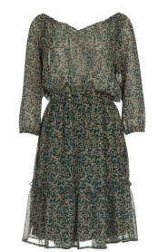 Lolly's Laundry |  Floral dress City | green  | Picture 1
