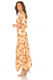 Dante 6 |  Maxi wrap dress with lurex Poetic | pink  | Picture 6