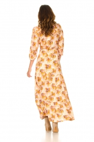 Dante 6 |  Maxi wrap dress with lurex Poetic | pink  | Picture 7