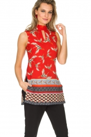 Ana Alcazar |  Top Isana | red  | Picture 2