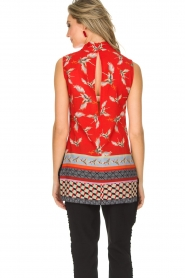Ana Alcazar |  Top Isana | red  | Picture 5