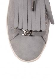 MICHAEL Michael Kors | Suède sneakers Keaton kiltie | blauw  | Afbeelding 5