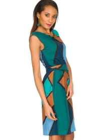 Ana Alcazar |  Dress Elin | Multi  | Picture 4