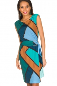 Ana Alcazar |  Dress Elin | Multi  | Picture 2