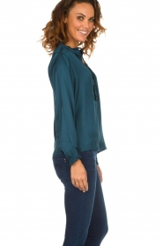 Lolly's Laundry |  Top with ruffles Franka | blue  | Picture 4