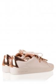 MICHAEL Michael Kors | Leren sneakers Keaton Kiltie | wit  | Afbeelding 4