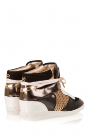 MICHAEL Michael Kors | Leren high-top sneakers Nikko | multi  | Afbeelding 4