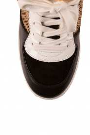 MICHAEL Michael Kors | Leren high-top sneakers Nikko | multi  | Afbeelding 5