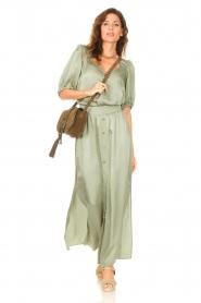 Dante 6 |  Satin blouse Moula | green  | Picture 3
