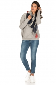 IRO | Oversized sweater Thyma | grijs  | Afbeelding 3