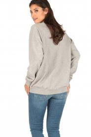 IRO | Oversized sweater Thyma | grijs  | Afbeelding 5