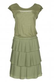 Patrizia Pepe |  Dress Valerie | green  | Picture 1