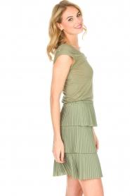 Patrizia Pepe |  Dress Valerie | green  | Picture 6