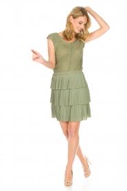 Patrizia Pepe |  Dress Valerie | green  | Picture 8
