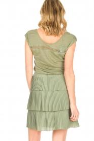 Patrizia Pepe |  Dress Valerie | green  | Picture 7