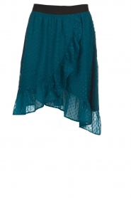 Lolly's Laundry |  Polkadot midi skirt with glitter details Bertha | blue  | Picture 1