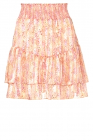 Dante 6 |  Skirt with print and lurex Wonderous | pink  | Picture 1