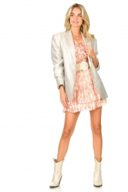 Dante 6 |  Skirt with print and lurex Wonderous | pink  | Picture 3