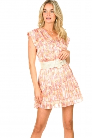 Dante 6 |  Skirt with print and lurex Wonderous | pink  | Picture 2