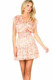 Dante 6 |  Skirt with print and lurex Wonderous | pink  | Picture 5