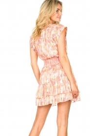 Dante 6 |  Skirt with print and lurex Wonderous | pink  | Picture 7