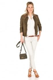 IRO | Low waist skinny jeans Jarod | lichtgrijs  | Afbeelding 3