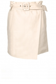 Dante 6 |  Leather wrap skirt Leith | natural  | Picture 1