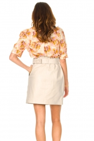 Dante 6 |  Leather wrap skirt Leith | natural  | Picture 8