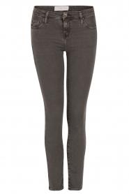 IRO | Low waist skinny jeans Jarod | donkergrijs  | Afbeelding 1