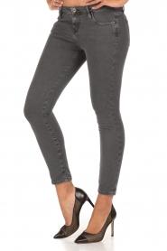IRO | Low waist skinny jeans Jarod | donkergrijs  | Afbeelding 4