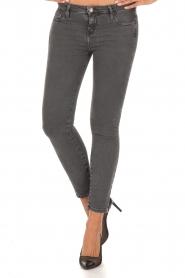 IRO | Low waist skinny jeans Jarod | donkergrijs  | Afbeelding 2