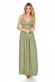 Patrizia Pepe | Maxi-jurk Abito | groen  | Afbeelding 3