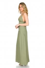 Patrizia Pepe | Maxi-jurk Abito | groen  | Afbeelding 4
