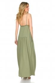 Patrizia Pepe | Maxi-jurk Abito | groen  | Afbeelding 5