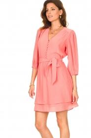 Dante 6 |  Dress with matching tie belt Bellem | pink  | Picture 5