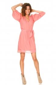 Dante 6 |  Dress with matching tie belt Bellem | pink  | Picture 3