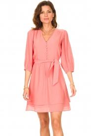 Dante 6 |  Dress with matching tie belt Bellem | pink  | Picture 4