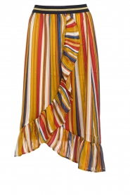 Lolly's Laundry |  Striped midi skirt Perla | multi  | Picture 1
